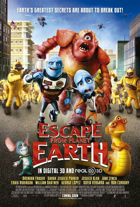 ESCAPE FROM PLANET EARTH Tv Spots!