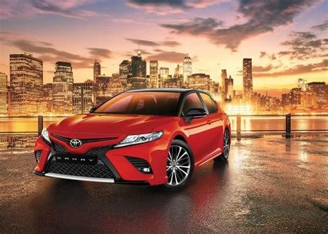 Car Pictures List for Toyota Camry 2018 2