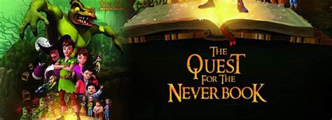 Peter Pan: The Quest for the Never Book مترجم