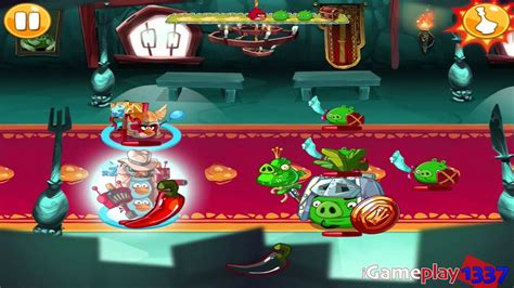 ANGRY BIRDS EPIC: King Pig's Castle - Walkthrough for