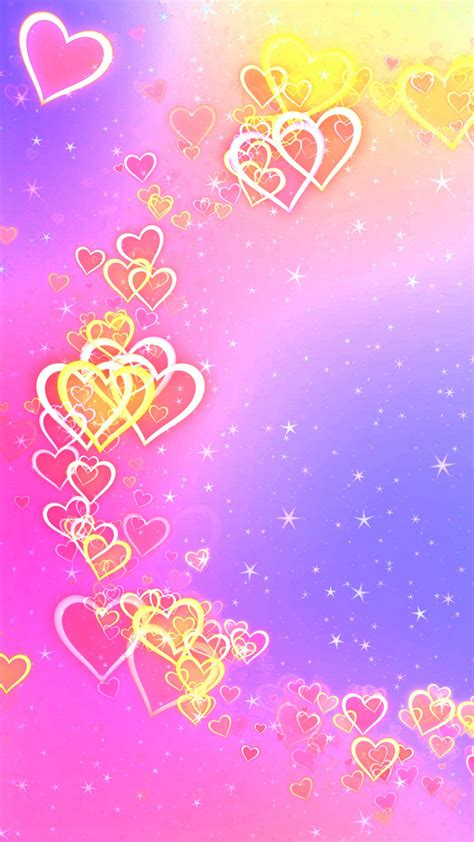 Wallpaper Love hearts, Abstract, Colorful, 4K, Love, #6297