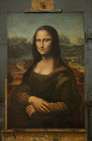Painting the Mona Lisa | a Portrait Painting Commission by