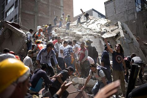 Mexico Earthquake 2017: See Photographs of the Destruction