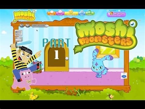 Moshi Monsters Game Play - Episode 1 - Getting Started